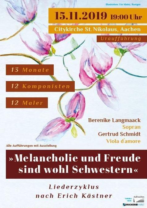 13 Monate 12 Komponisten 12 Maler Erich Kästner
