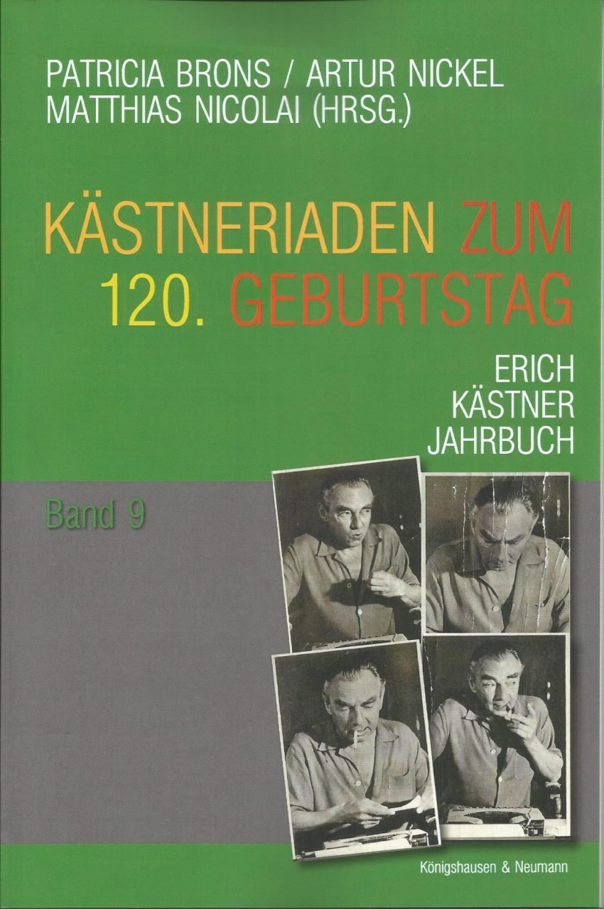 Aktuelles Erich Kästner Gesellschaft Ev